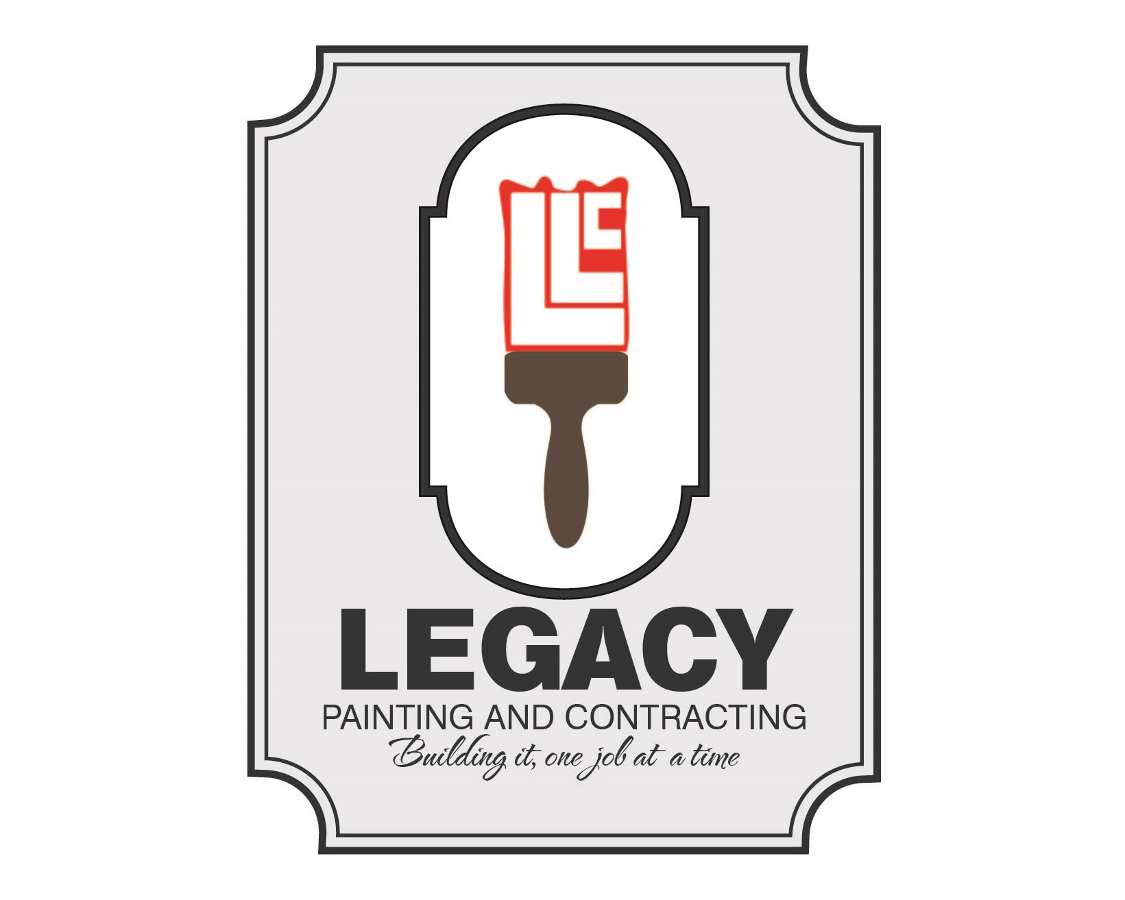 Logo Design by iwyn - Entry No. 15 in the Logo Design Contest Logo Design for Legacy Painting & Contracting LLC.