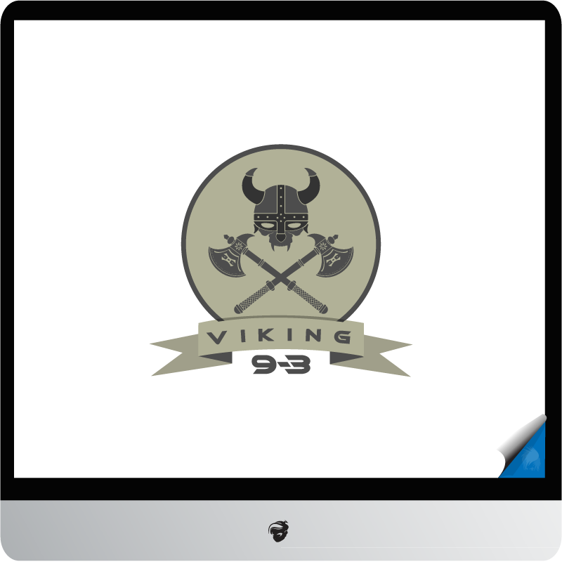 Logo Design by zesthar - Entry No. 11 in the Logo Design Contest Logo Design for Viking 9-3 MilSim Unit.