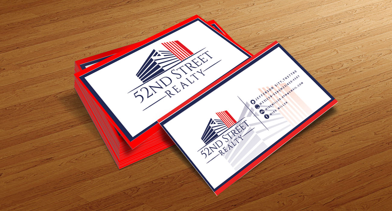 Logo Design by VENTSISLAV KOVACHEV - Entry No. 100 in the Logo Design Contest 52nd Street Realty Logo Design.