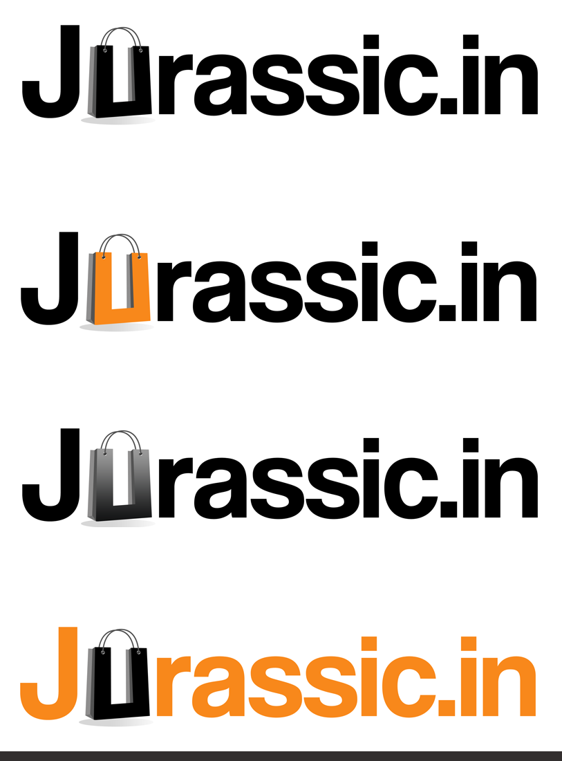 Logo Design by Private User - Entry No. 33 in the Logo Design Contest Unique Logo Design Wanted for jurassic.in.