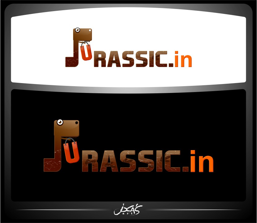 Logo Design by joca - Entry No. 36 in the Logo Design Contest Unique Logo Design Wanted for jurassic.in.
