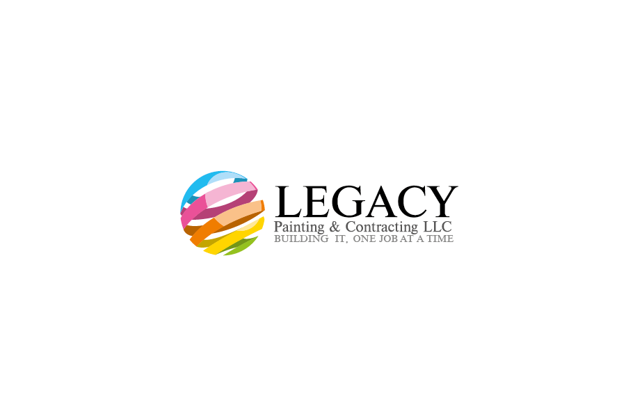 Logo Design by Private User - Entry No. 25 in the Logo Design Contest Logo Design for Legacy Painting & Contracting LLC.