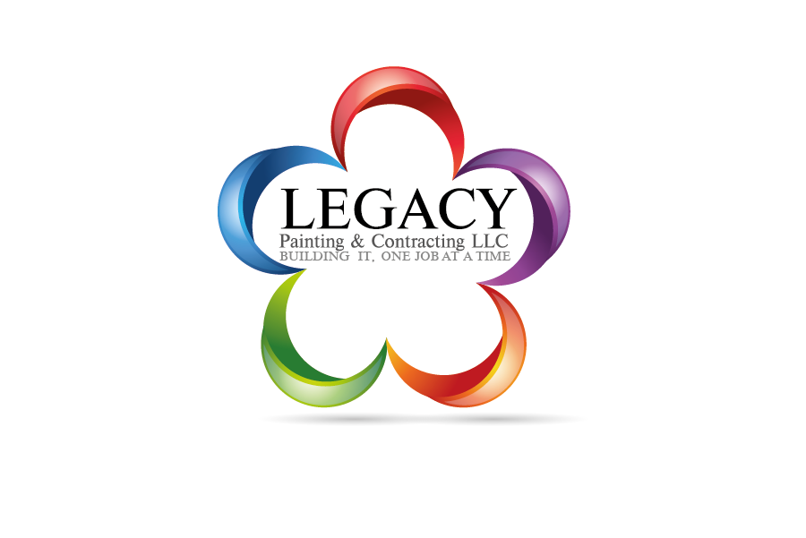 Logo Design by Private User - Entry No. 26 in the Logo Design Contest Logo Design for Legacy Painting & Contracting LLC.