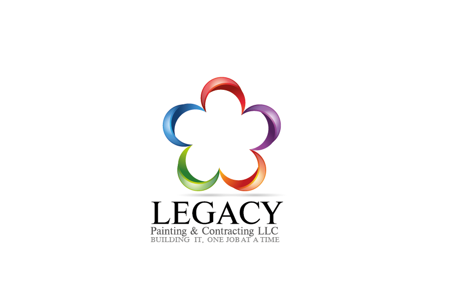 Logo Design by Private User - Entry No. 27 in the Logo Design Contest Logo Design for Legacy Painting & Contracting LLC.