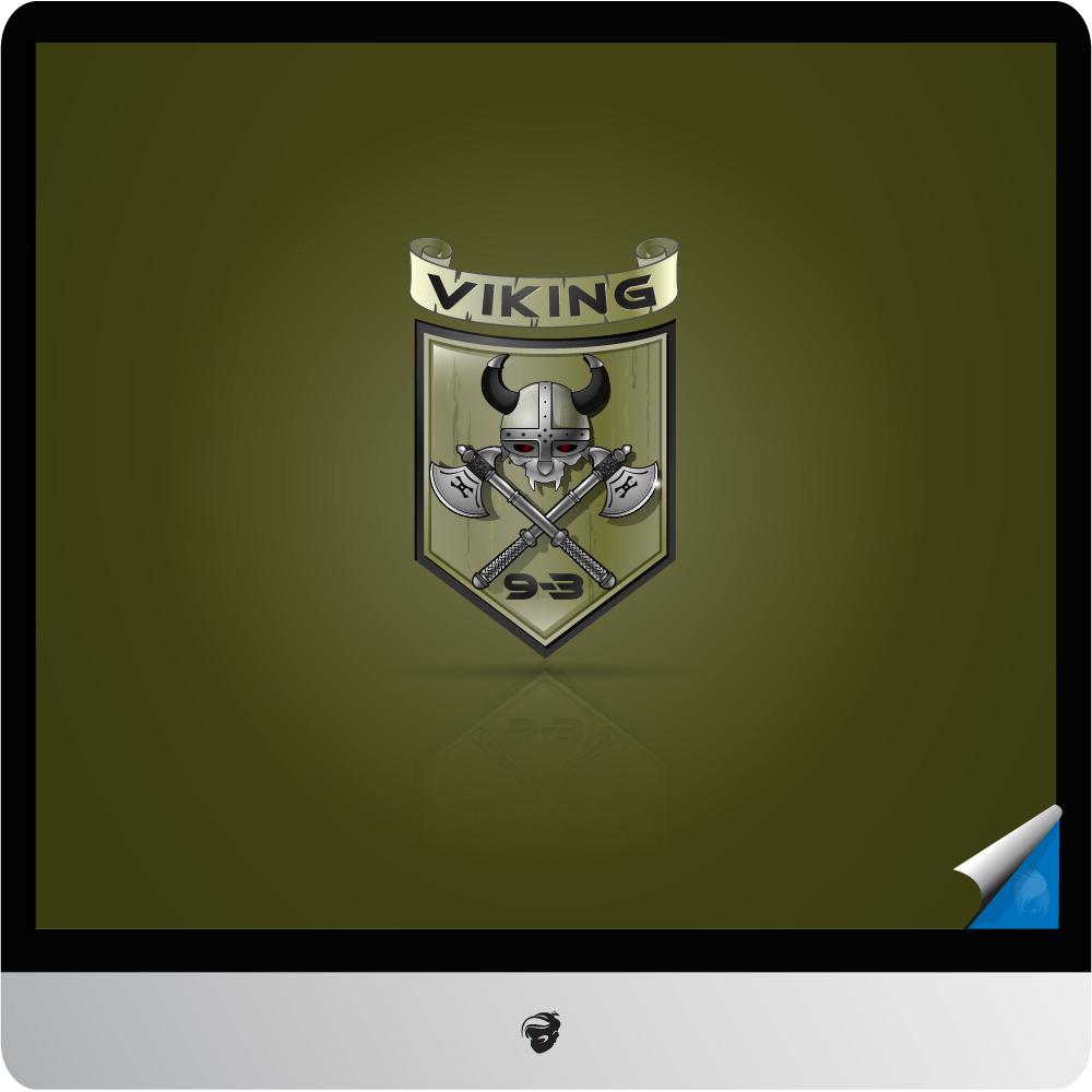 Logo Design by zesthar - Entry No. 20 in the Logo Design Contest Logo Design for Viking 9-3 MilSim Unit.