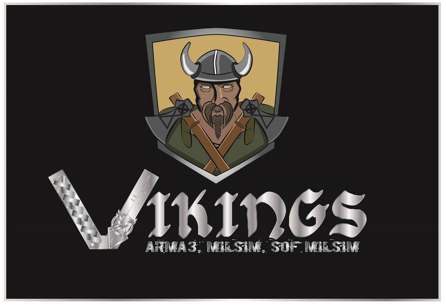 Logo Design by iwyn - Entry No. 21 in the Logo Design Contest Logo Design for Viking 9-3 MilSim Unit.
