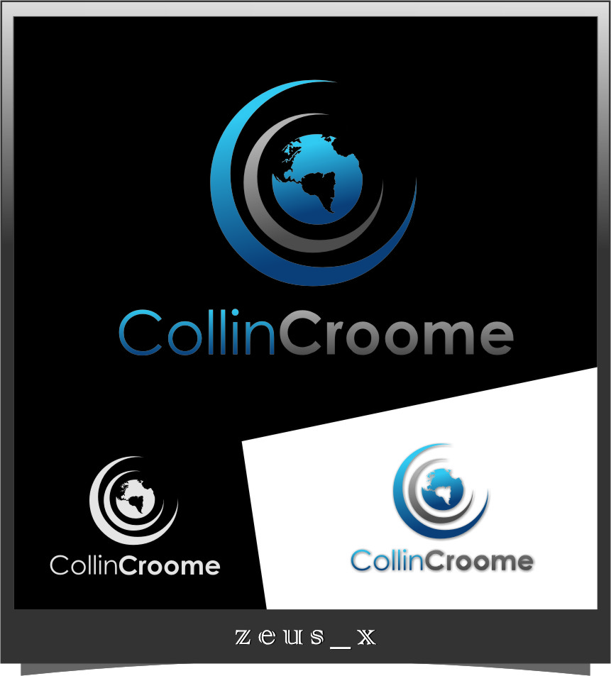 Logo Design by Ngepet_art - Entry No. 9 in the Logo Design Contest Modern Logo Design for Collin Croome.