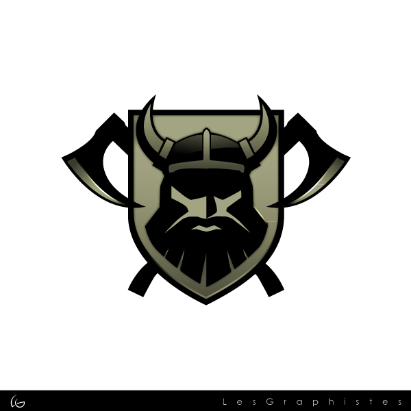 Logo Design by Les-Graphistes - Entry No. 26 in the Logo Design Contest Logo Design for Viking 9-3 MilSim Unit.