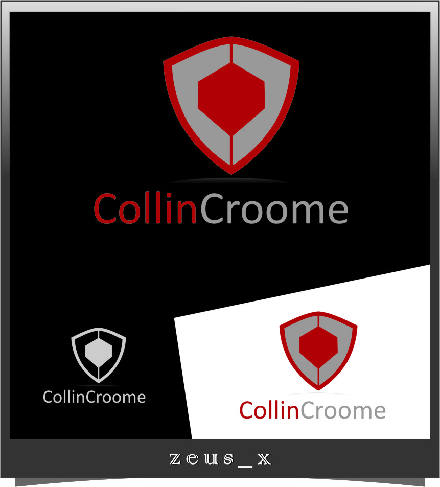 Logo Design by Ngepet_art - Entry No. 13 in the Logo Design Contest Modern Logo Design for Collin Croome.