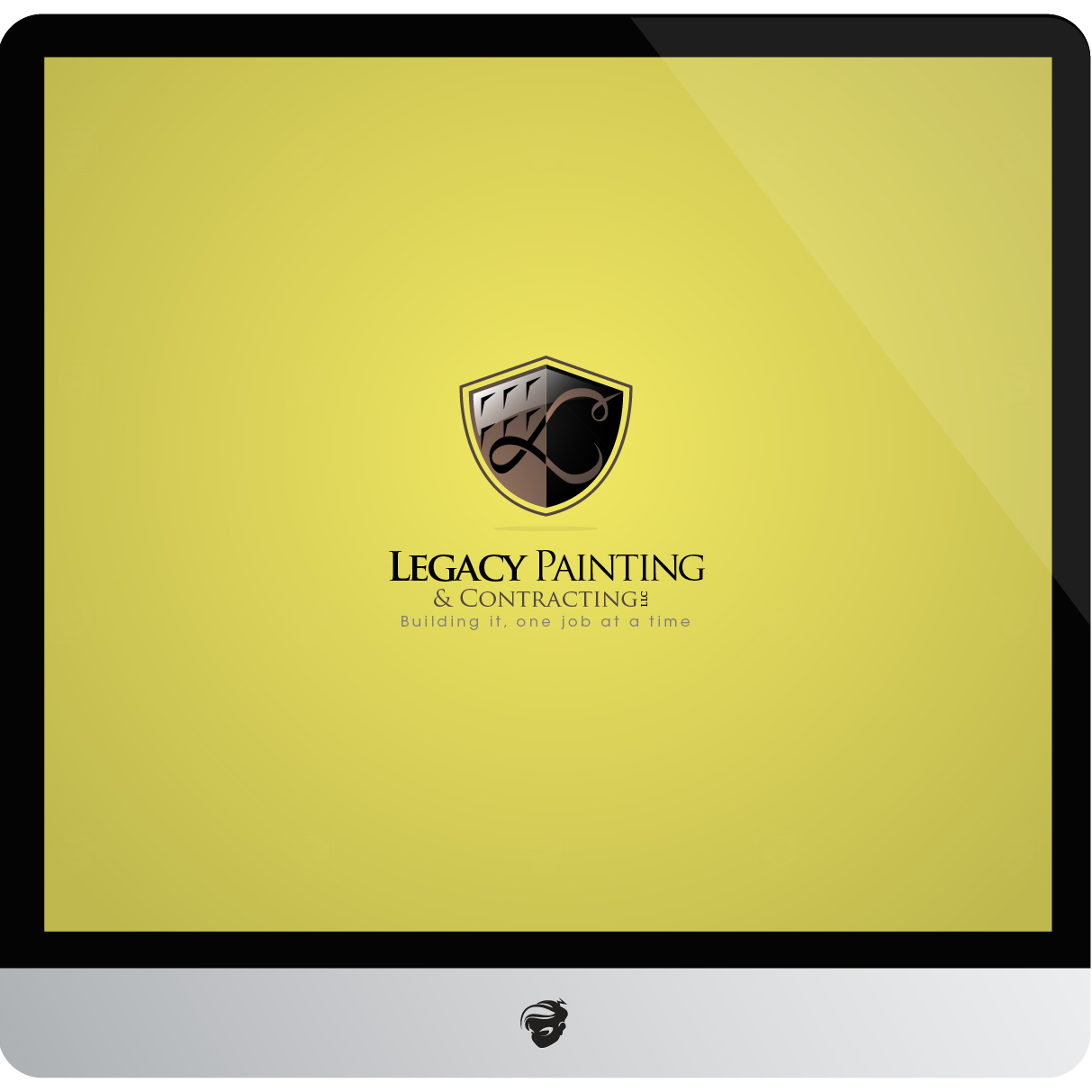 Logo Design by zesthar - Entry No. 38 in the Logo Design Contest Logo Design for Legacy Painting & Contracting LLC.