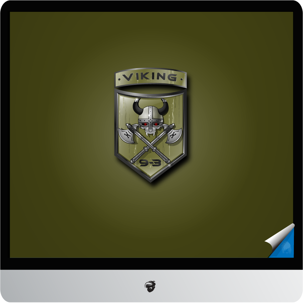 Logo Design by zesthar - Entry No. 27 in the Logo Design Contest Logo Design for Viking 9-3 MilSim Unit.