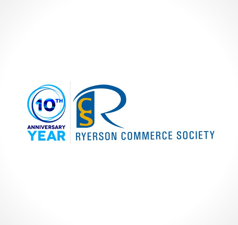 Logo Design by Private User - Entry No. 75 in the Logo Design Contest 10 Year Anniversary Logo Design for the Ryerson Commerce Society.