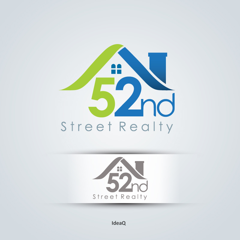 Logo Design by Private User - Entry No. 104 in the Logo Design Contest 52nd Street Realty Logo Design.