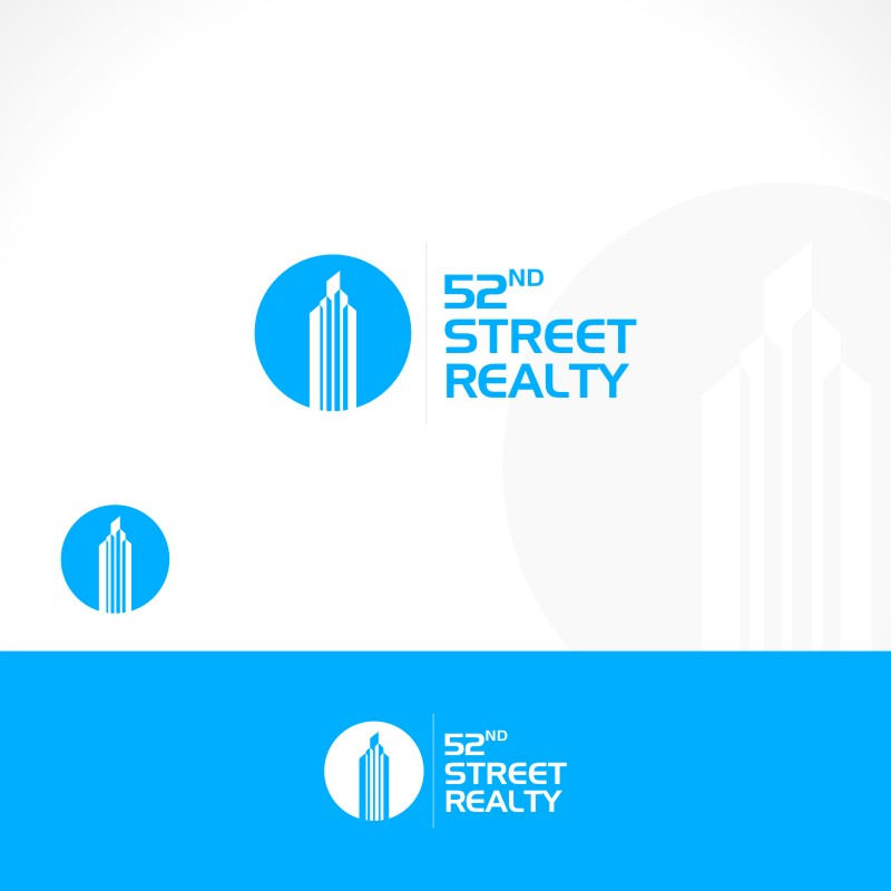 Logo Design by Private User - Entry No. 105 in the Logo Design Contest 52nd Street Realty Logo Design.