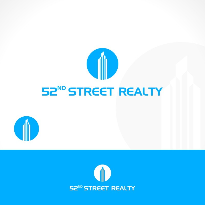 Logo Design by Private User - Entry No. 106 in the Logo Design Contest 52nd Street Realty Logo Design.