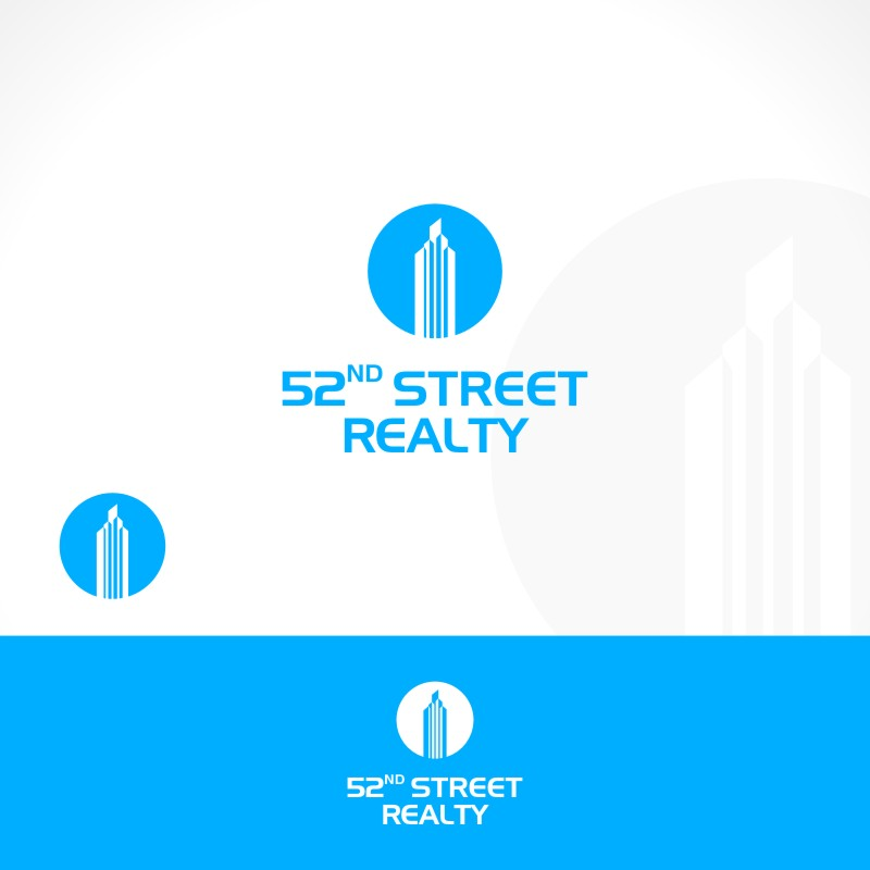 Logo Design by Private User - Entry No. 107 in the Logo Design Contest 52nd Street Realty Logo Design.
