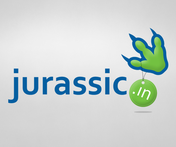 Logo Design by Jeff Gilmet - Entry No. 40 in the Logo Design Contest Unique Logo Design Wanted for jurassic.in.