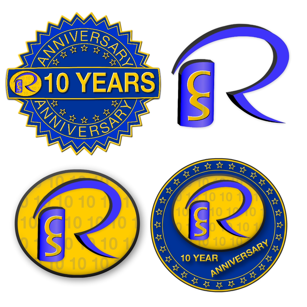 Logo Design by Brian Moelker - Entry No. 83 in the Logo Design Contest 10 Year Anniversary Logo Design for the Ryerson Commerce Society.