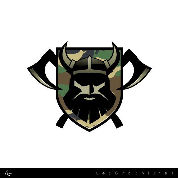 Logo Design by Les-Graphistes - Entry No. 29 in the Logo Design Contest Logo Design for Viking 9-3 MilSim Unit.