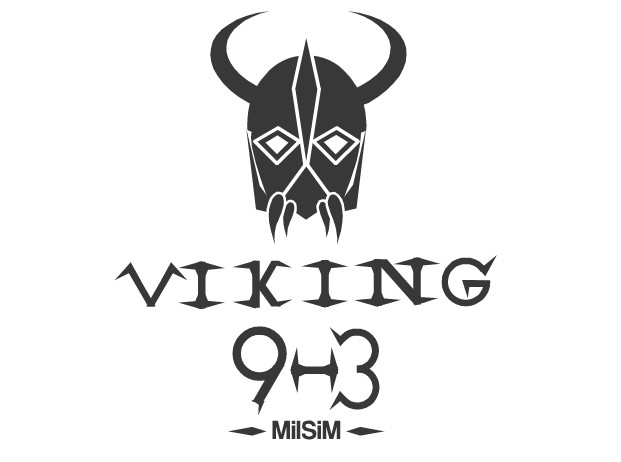 Logo Design by Ismail Adhi Wibowo - Entry No. 30 in the Logo Design Contest Logo Design for Viking 9-3 MilSim Unit.