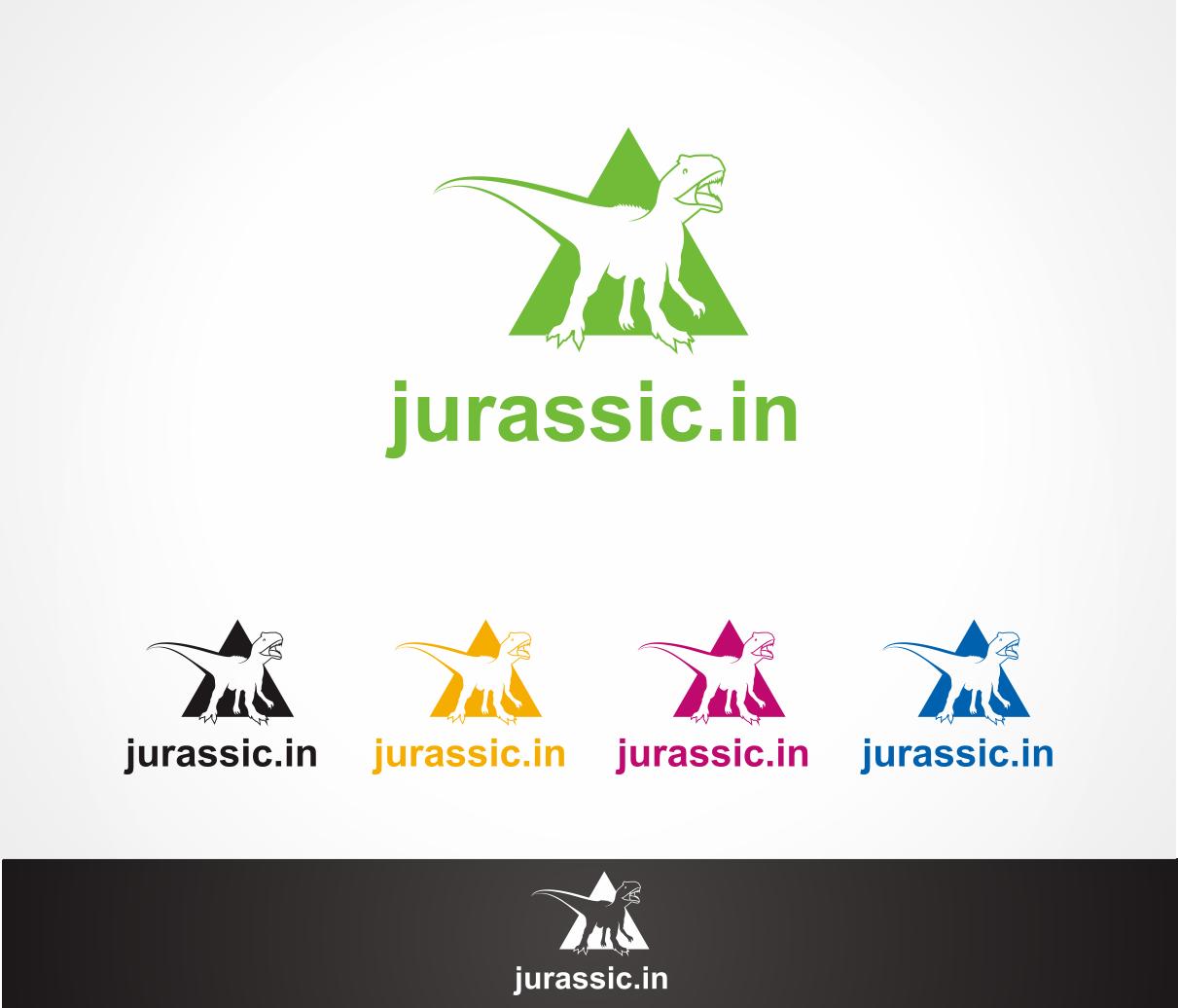 Logo Design by Armada Jamaluddin - Entry No. 42 in the Logo Design Contest Unique Logo Design Wanted for jurassic.in.