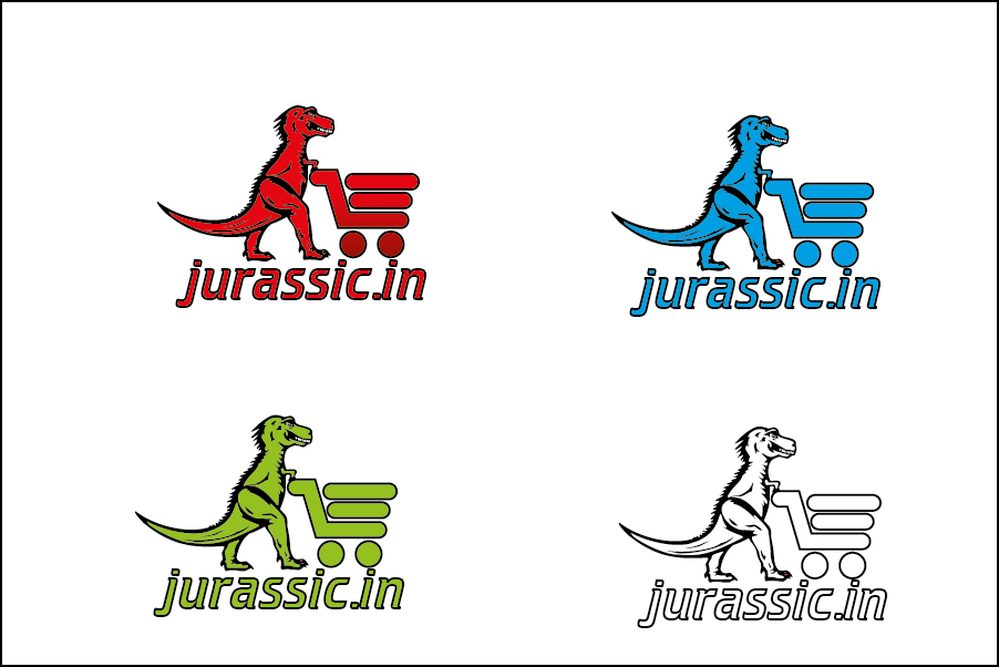 Logo Design by Private User - Entry No. 43 in the Logo Design Contest Unique Logo Design Wanted for jurassic.in.