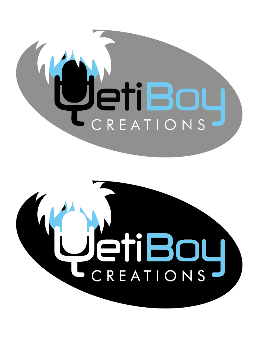Logo Design by Christina Evans - Entry No. 1 in the Logo Design Contest Captivating Logo Design for Yeti Boy Creations.