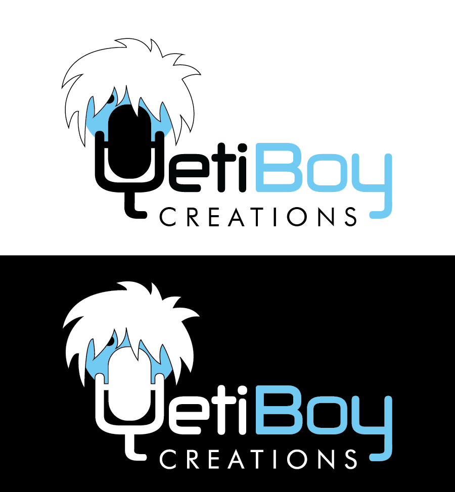 Logo Design by Christina Evans - Entry No. 2 in the Logo Design Contest Captivating Logo Design for Yeti Boy Creations.