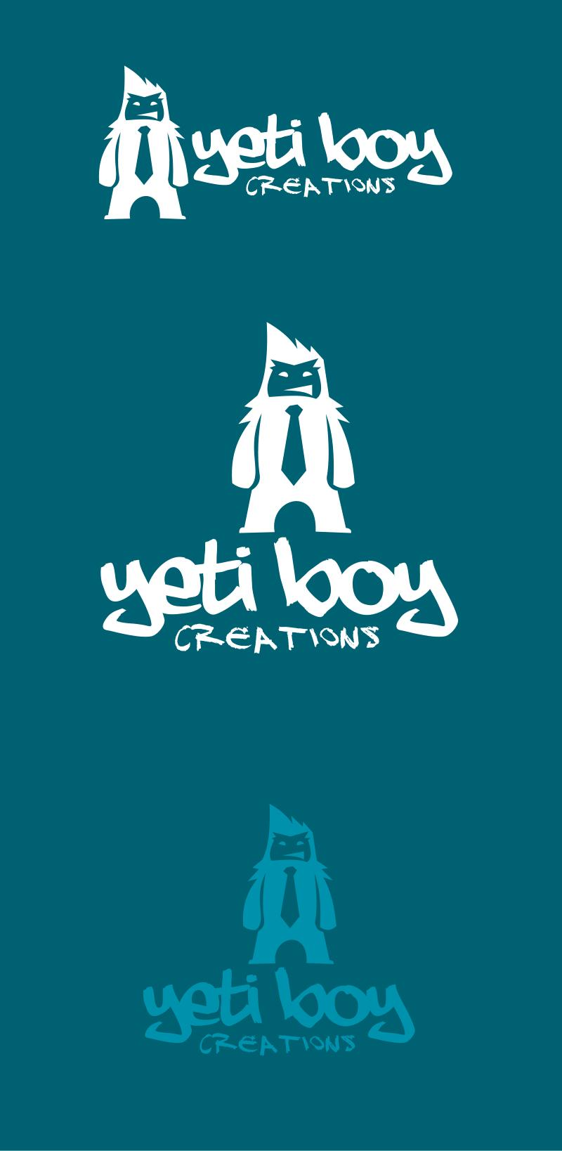 Logo Design by Private User - Entry No. 5 in the Logo Design Contest Captivating Logo Design for Yeti Boy Creations.