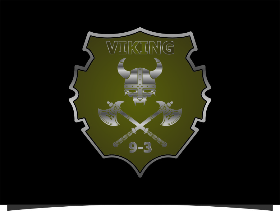 Logo Design by RasYa Muhammad Athaya - Entry No. 31 in the Logo Design Contest Logo Design for Viking 9-3 MilSim Unit.
