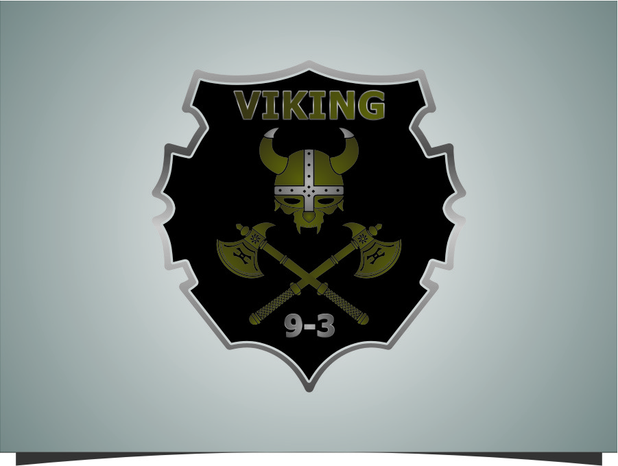 Logo Design by RoSyid Rono-Rene On Java - Entry No. 32 in the Logo Design Contest Logo Design for Viking 9-3 MilSim Unit.