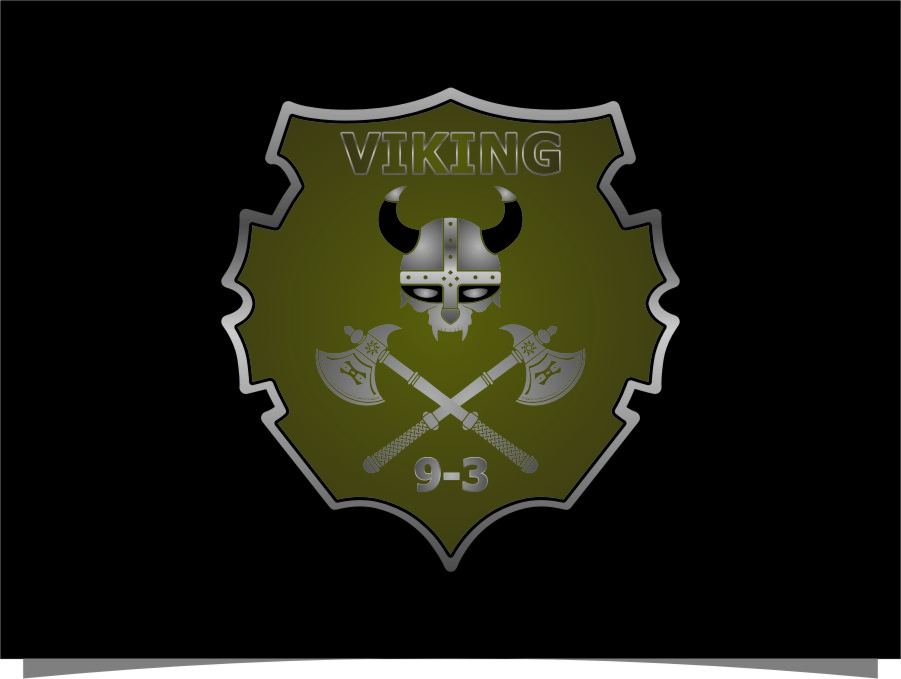 Logo Design by RoSyid Rono-Rene On Java - Entry No. 33 in the Logo Design Contest Logo Design for Viking 9-3 MilSim Unit.