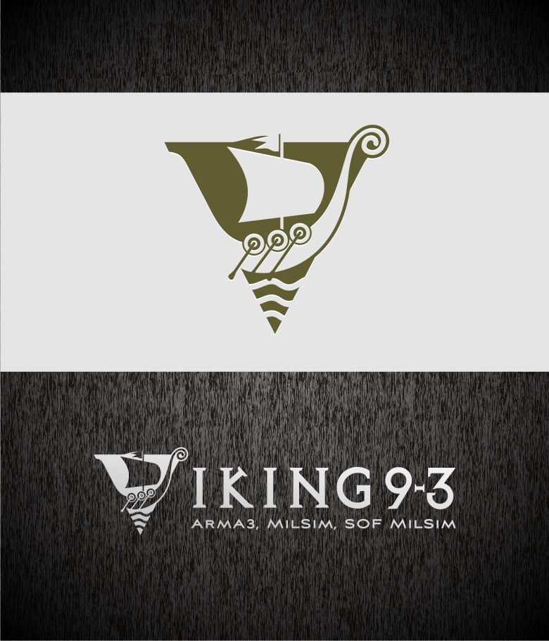 Logo Design by graphicleaf - Entry No. 34 in the Logo Design Contest Logo Design for Viking 9-3 MilSim Unit.