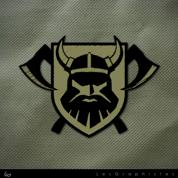 Logo Design by Les-Graphistes - Entry No. 35 in the Logo Design Contest Logo Design for Viking 9-3 MilSim Unit.