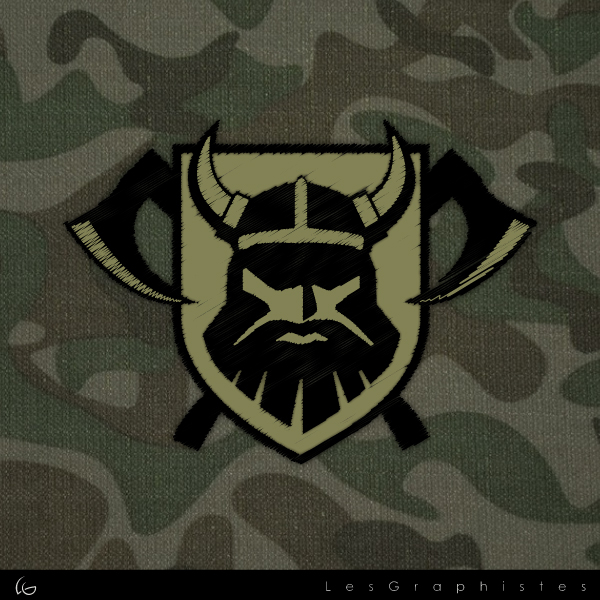 Logo Design by Les-Graphistes - Entry No. 37 in the Logo Design Contest Logo Design for Viking 9-3 MilSim Unit.