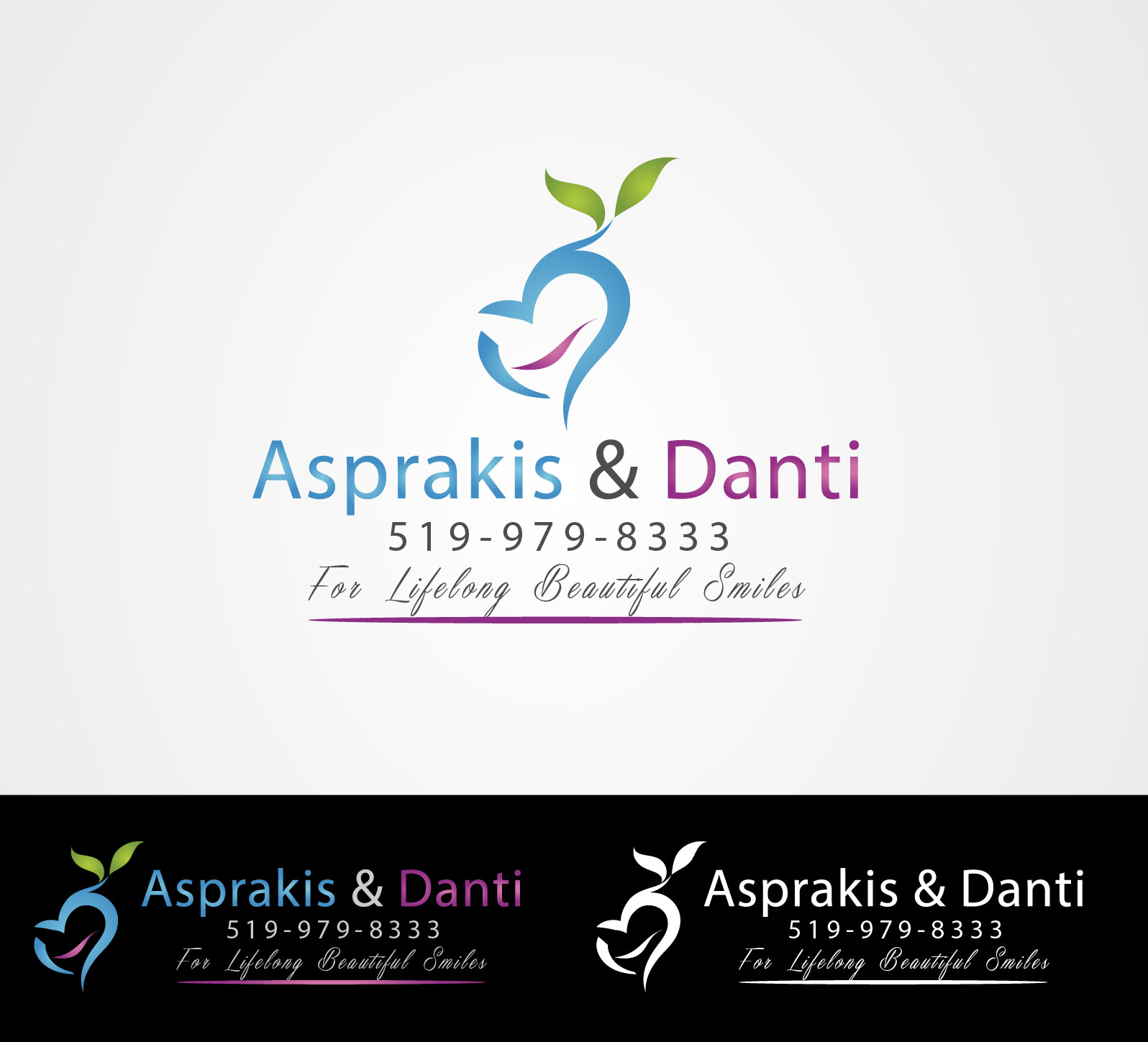 Logo Design by Darina Dimitrova - Entry No. 5 in the Logo Design Contest Unique Logo Design Wanted for Asprakis and Danti.