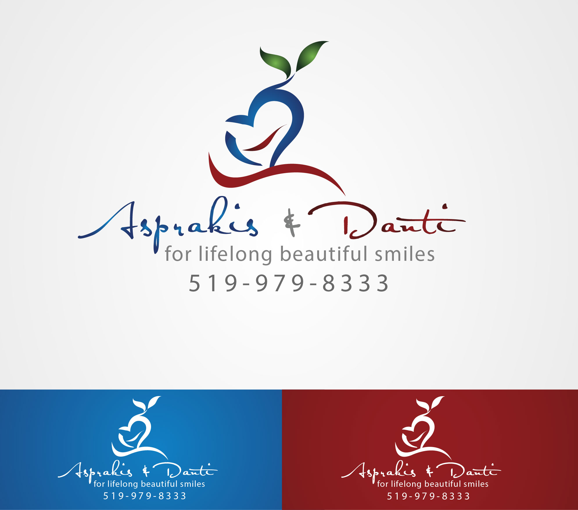 Logo Design by Darina Dimitrova - Entry No. 6 in the Logo Design Contest Unique Logo Design Wanted for Asprakis and Danti.