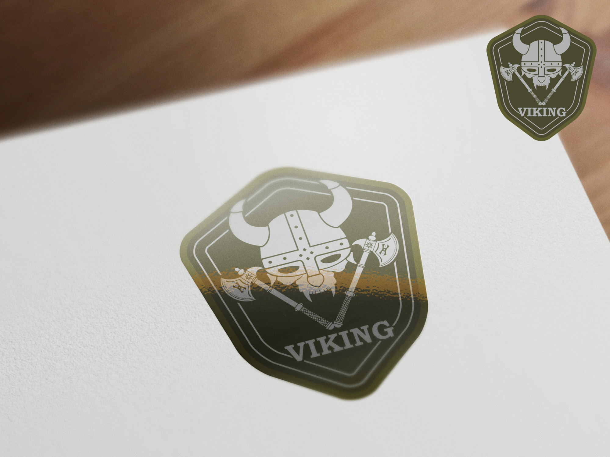 Logo Design by olii - Entry No. 40 in the Logo Design Contest Logo Design for Viking 9-3 MilSim Unit.