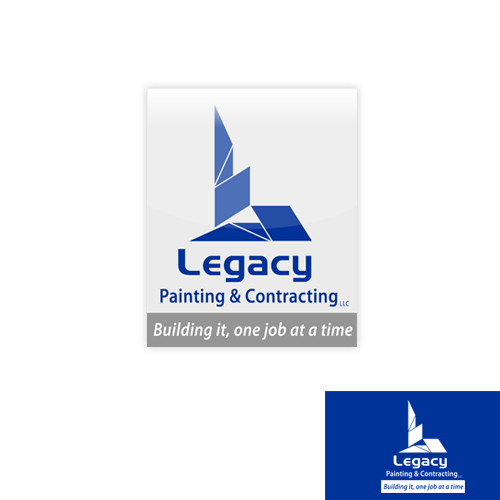 Logo Design by Ryan_Taufik - Entry No. 45 in the Logo Design Contest Logo Design for Legacy Painting & Contracting LLC.