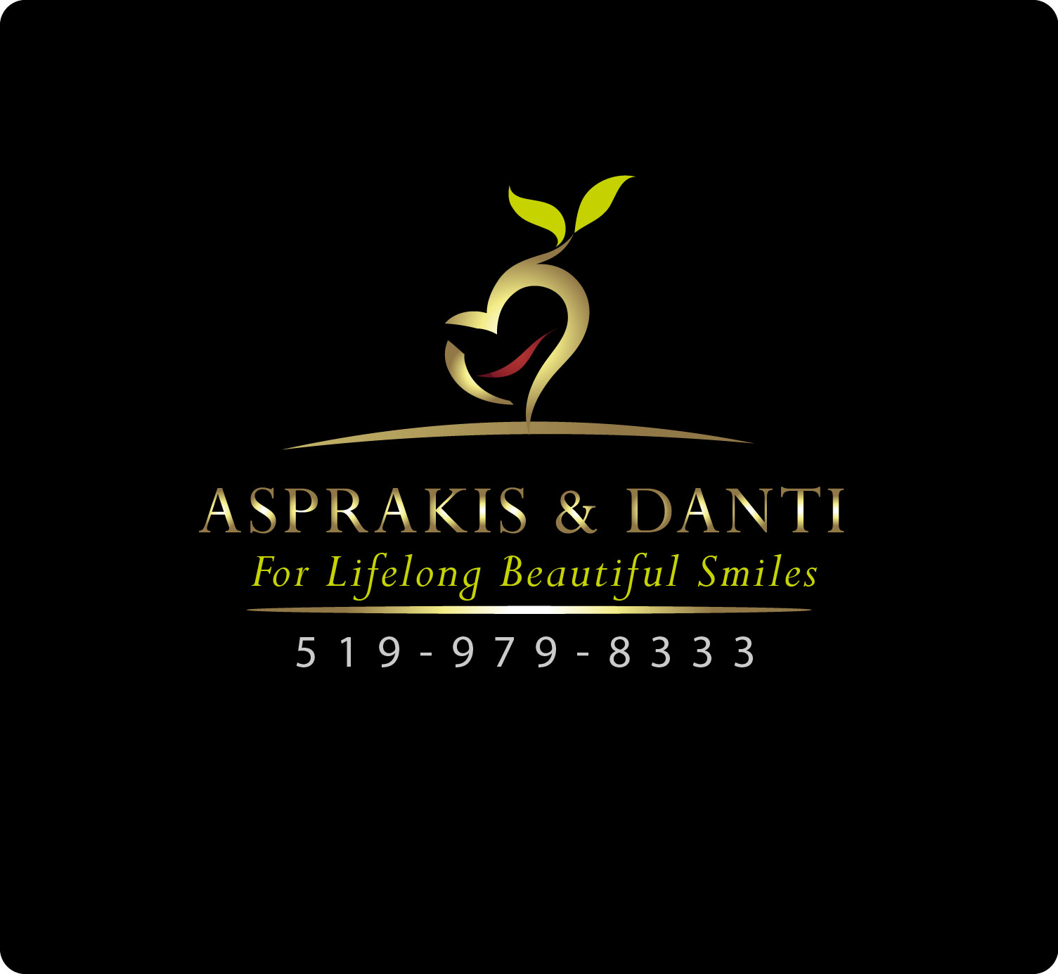 Logo Design by Darina Dimitrova - Entry No. 12 in the Logo Design Contest Unique Logo Design Wanted for Asprakis and Danti.