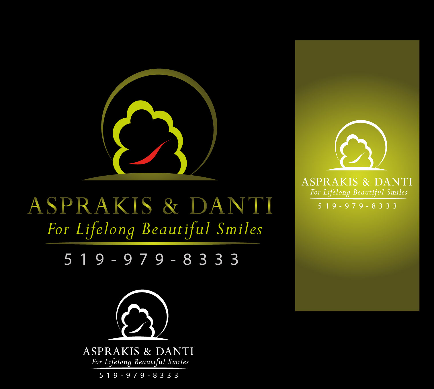 Logo Design by Darina Dimitrova - Entry No. 14 in the Logo Design Contest Unique Logo Design Wanted for Asprakis and Danti.