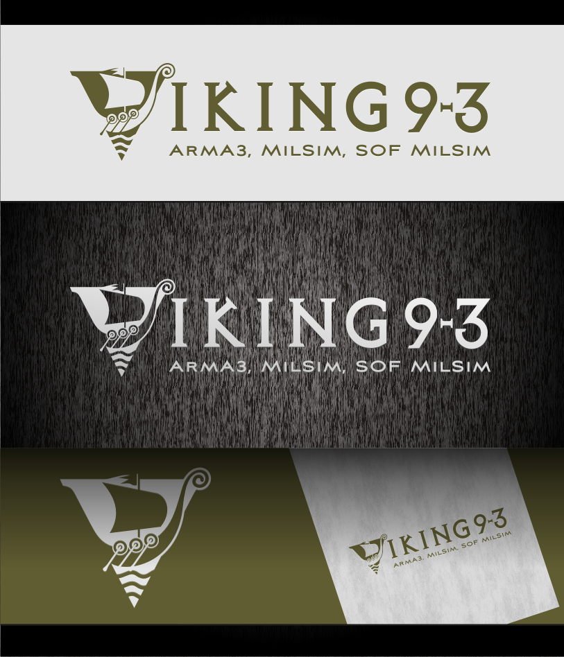 Logo Design by graphicleaf - Entry No. 42 in the Logo Design Contest Logo Design for Viking 9-3 MilSim Unit.