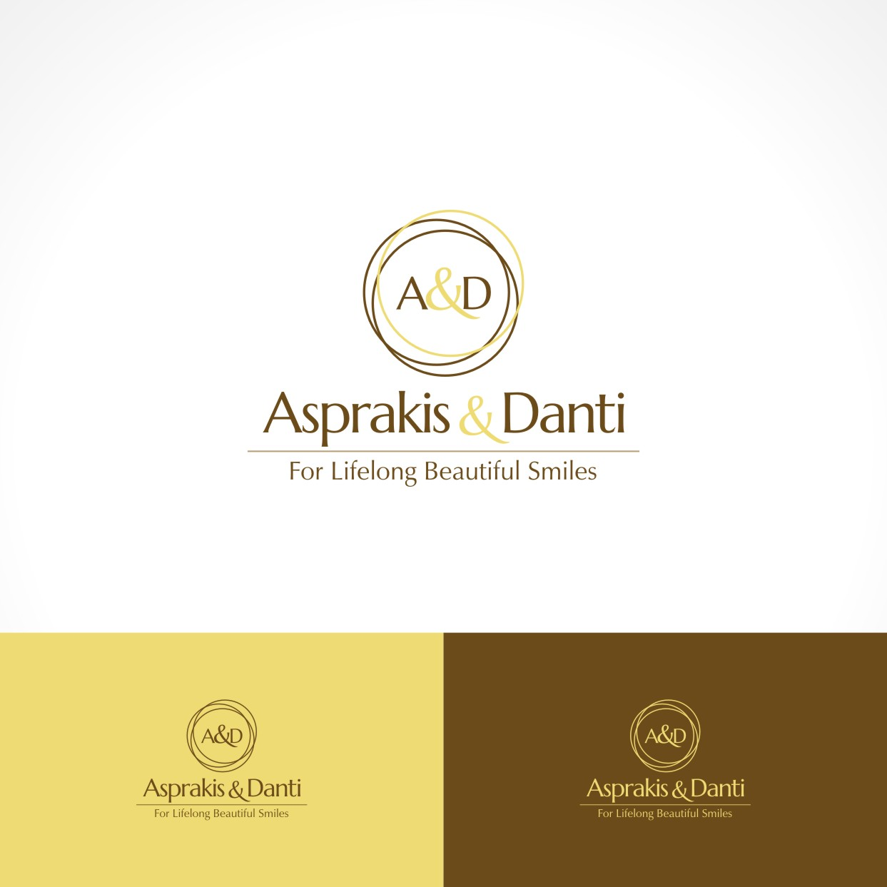 Logo Design by Private User - Entry No. 19 in the Logo Design Contest Unique Logo Design Wanted for Asprakis and Danti.