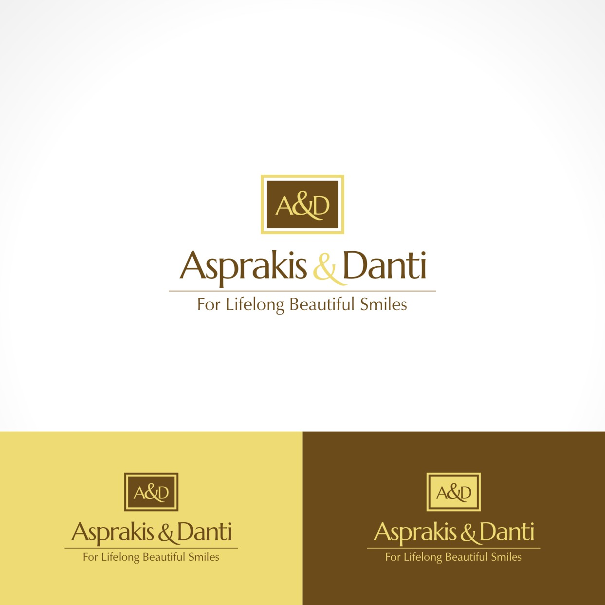 Logo Design by Private User - Entry No. 21 in the Logo Design Contest Unique Logo Design Wanted for Asprakis and Danti.