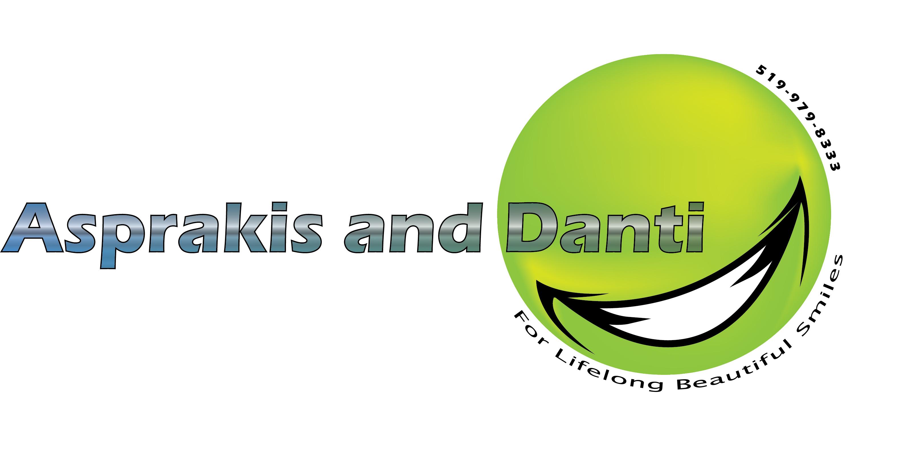 Logo Design by Chandrodayan Mavadian - Entry No. 22 in the Logo Design Contest Unique Logo Design Wanted for Asprakis and Danti.