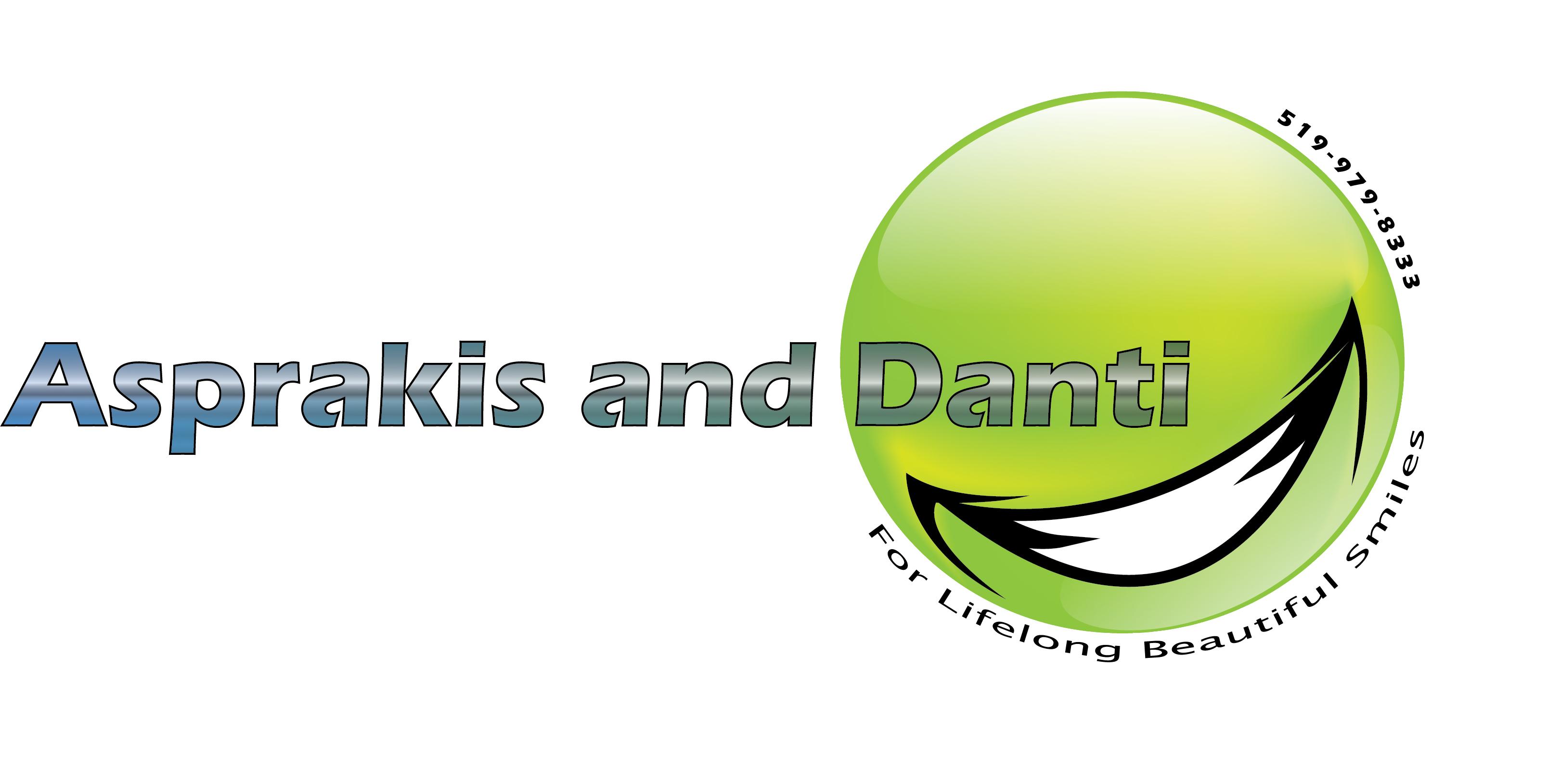 Logo Design by Chandrodayan Mavadian - Entry No. 23 in the Logo Design Contest Unique Logo Design Wanted for Asprakis and Danti.