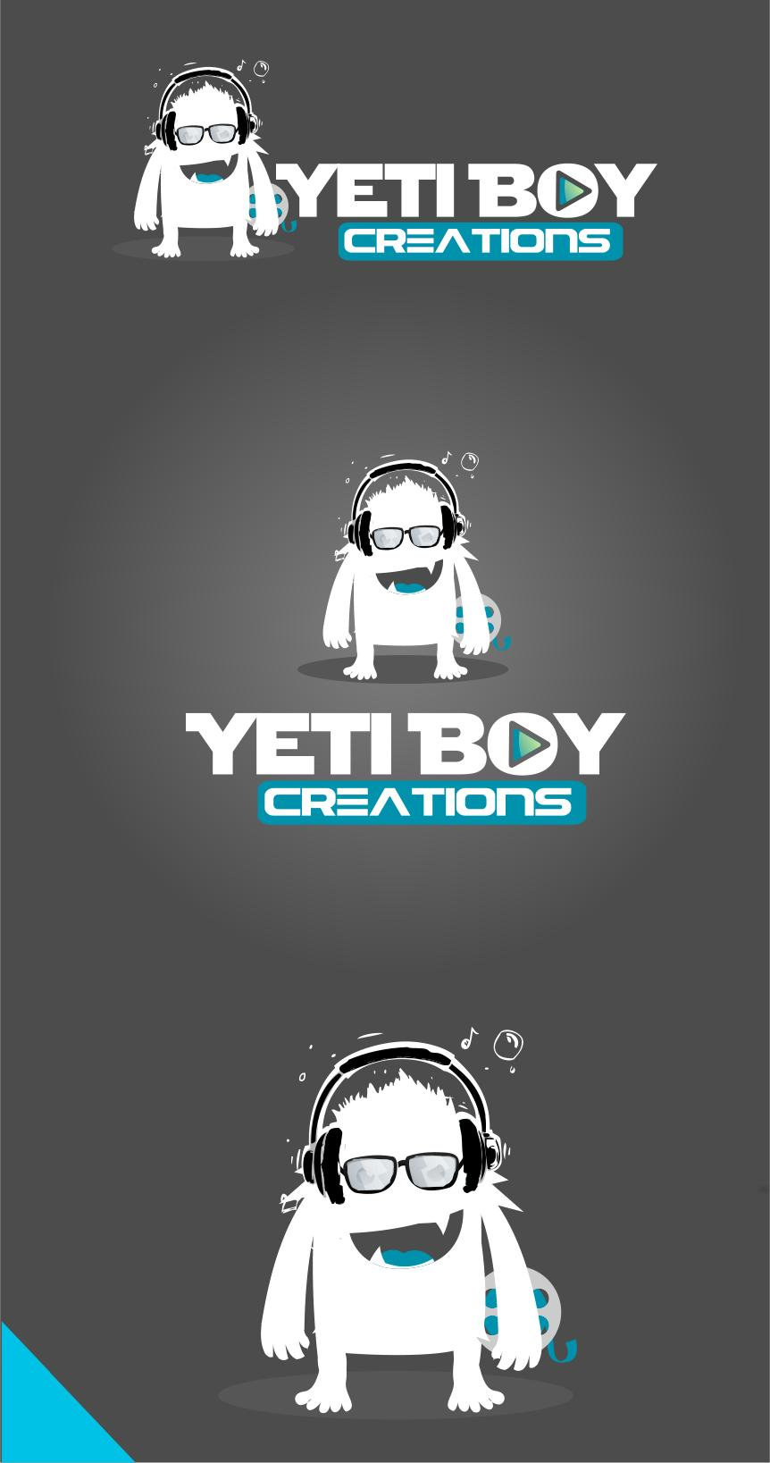 Logo Design by Private User - Entry No. 11 in the Logo Design Contest Captivating Logo Design for Yeti Boy Creations.
