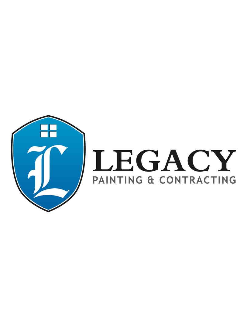 Logo Design by Private User - Entry No. 46 in the Logo Design Contest Logo Design for Legacy Painting & Contracting LLC.