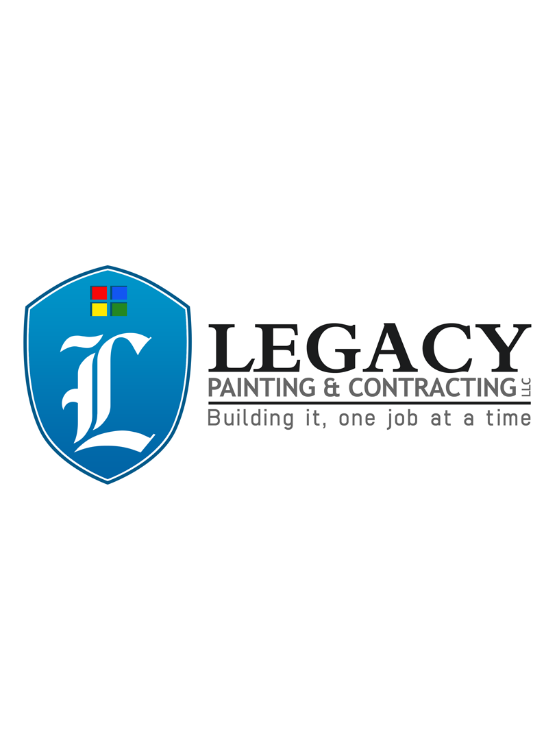 Logo Design by Private User - Entry No. 47 in the Logo Design Contest Logo Design for Legacy Painting & Contracting LLC.