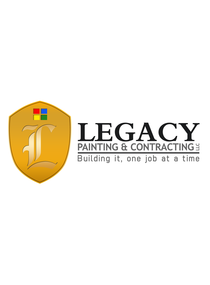 Logo Design by Private User - Entry No. 48 in the Logo Design Contest Logo Design for Legacy Painting & Contracting LLC.